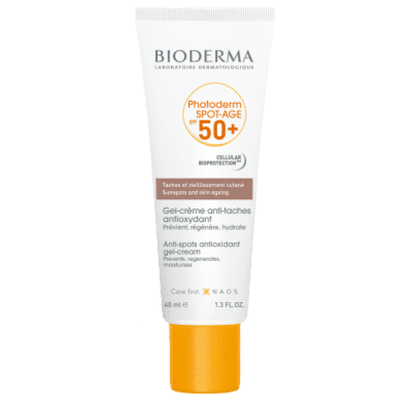 BIODERMA Photoderm SPOT-AGE SPF 50+ saules aizsargkrēms 40ml